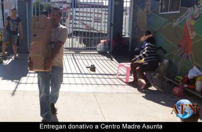 Entregan donativo a Centro Madre Asunta