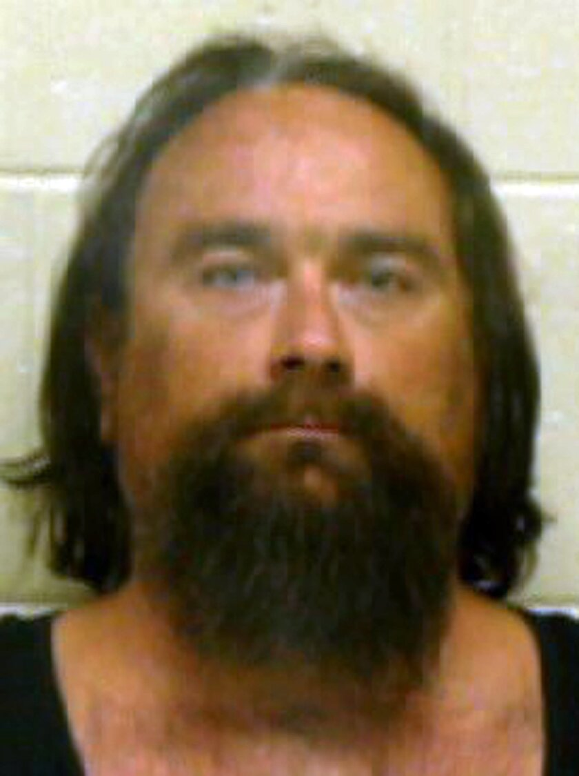 This undated photo provided by the Coffee County Sheriff's Department shows Gregory S. Hale. Authorities say Hale is accused of killing a woman, dismembering her body and eating part of her corpse. (AP Photo/Coffee County Sheriff's Department)