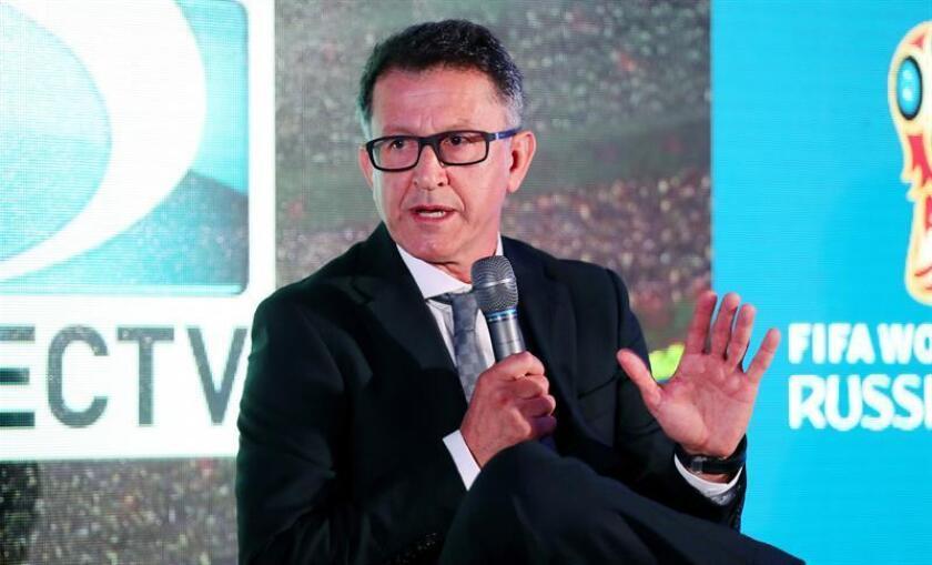 El director técnico de la Selección Mexicana de Fútbol, Juan Carlos Osorio. EFE/ARCHIVO