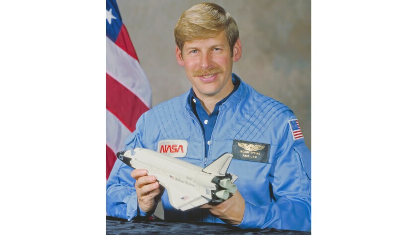 Retired, Astronaut Col. Sherwood 'Woody' Spring