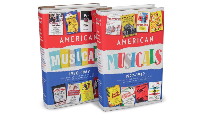 "Know an aspiring musical theater lyricist? The two-volume ""American Musicals"" might make a nice gift."