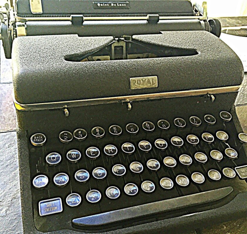 The Royal Quiet Deluxe was Ernest Hemingway's favorite typewriter.