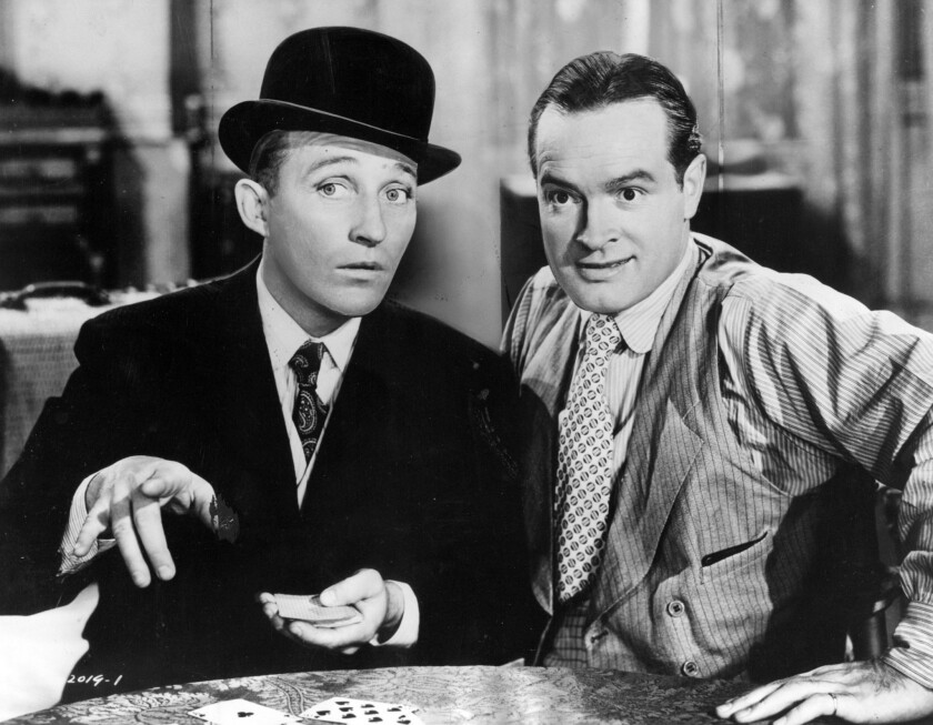 From the archives:: Bob Hope on the war years, Broadway and working with Bing  Crosby - Los Angeles Times