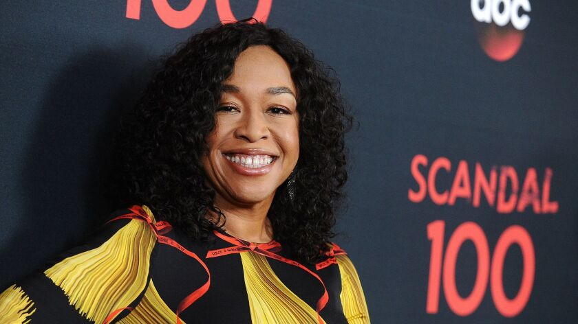 """Shonda Rhimes recently signed a rich overall deal with Netflix. However, she'll have four dramas on ABC next season (""""Grey's Anatomy"""", 'How to Get Away With Murder"""", """"For the People"""" and """"Grey's Anatomy."""""""