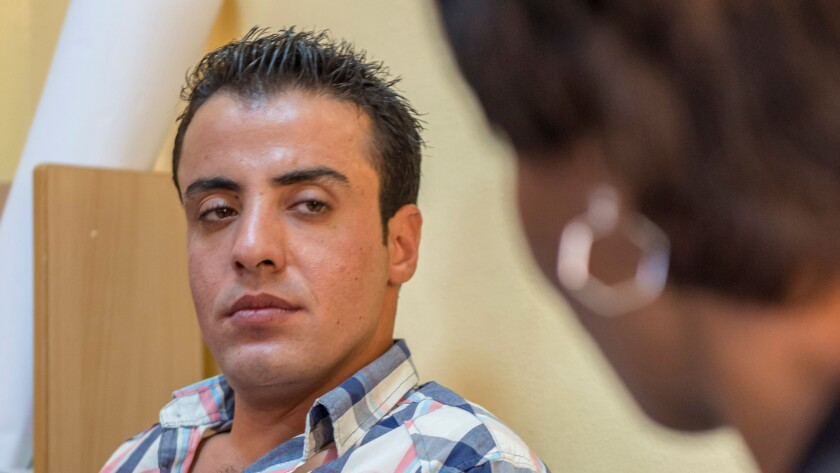 """""""I'm unable to find a job because the competition is so high,"""" Saeed Zaki, 26, tells a reporter. """"I can't even think about getting married. It's nothing personal against Syrians, it's just the competition."""""""
