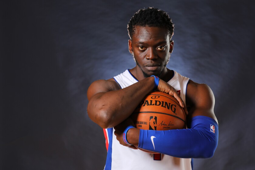 Reggie Jackson has career averages of 12.9 points and 4.4 assists.