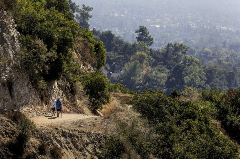 L.A. Walks: Start in Alta Canyada, then climb, and keep climbing