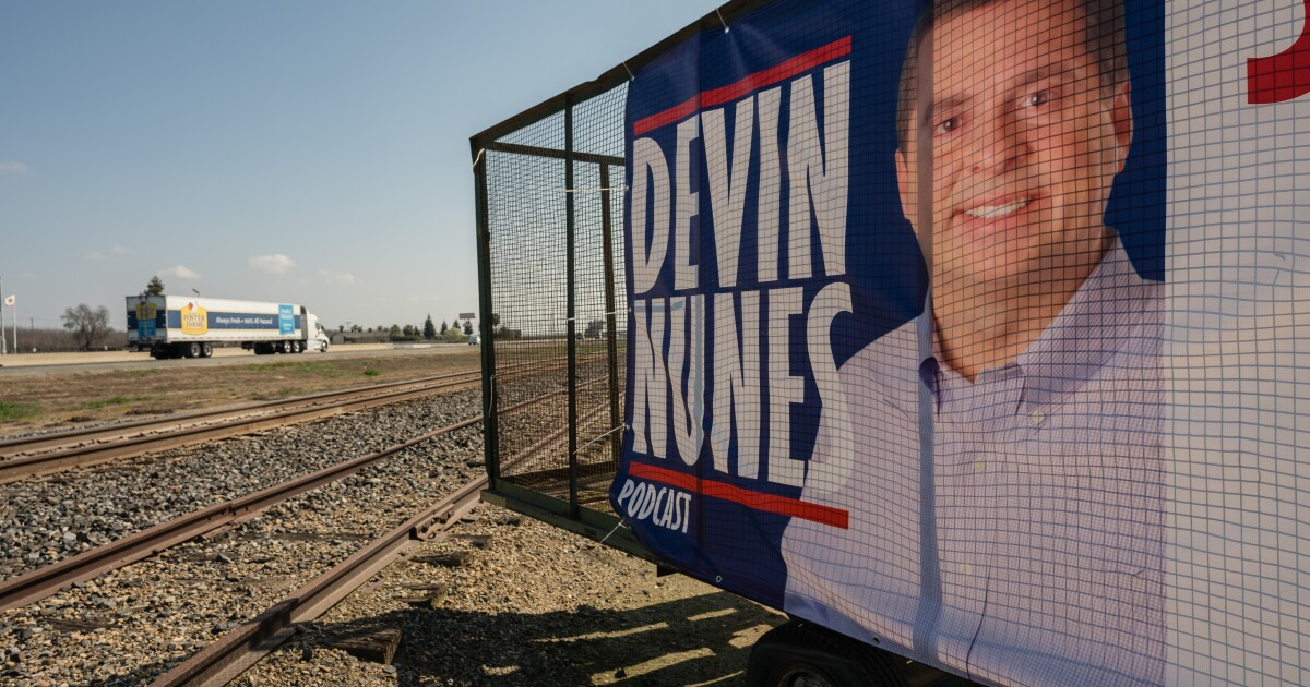 Column: Devin Nunes' festival of freedom? It's more like a carnival of Republican grievances