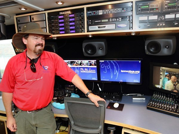 Jeff Pitt, RSF School District Director of Operations, in Studio 1