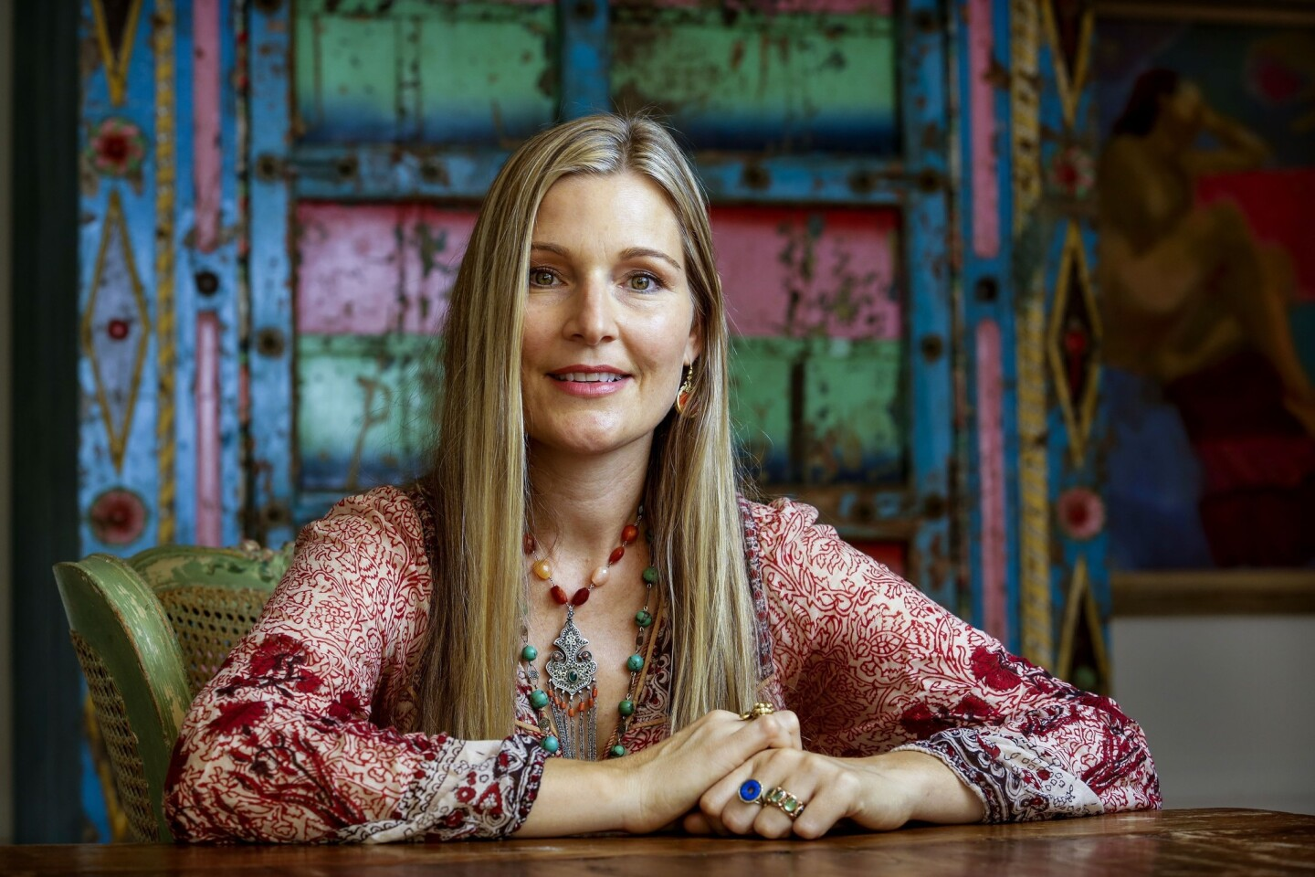 """Clothing designer Sage Machado closed her Los Angeles boutique of 20 years to focus on jewelry design, lifestyle consulting and """"gem therapy."""""""