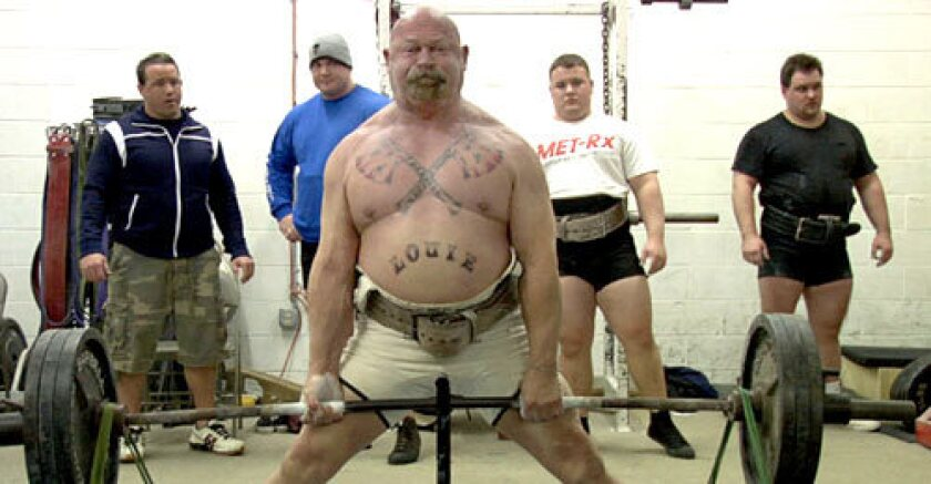 """DOC: Louis Simmons in """"Bigger, Stronger, Faster*,"""" which takes a broader view of steroid use."""