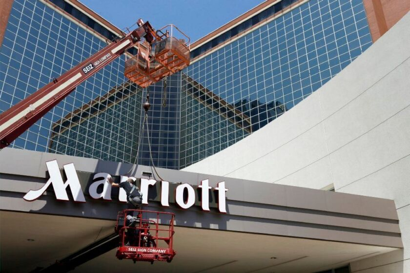 Marriott said the security breach dated back years.
