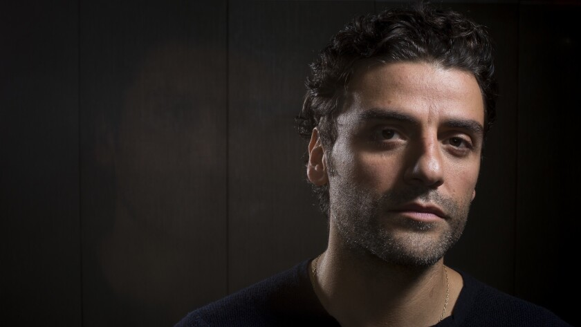 """Actor Oscar Isaac in New York City. Isaac stars in the drama """"Operation Finale,"""" about the search for Adolf Eichmann, opening Aug. 29."""