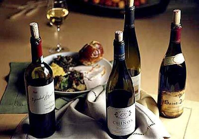 An unusual tasting challenged conventional wisdom about pairing wines with Thanksgiving foods.