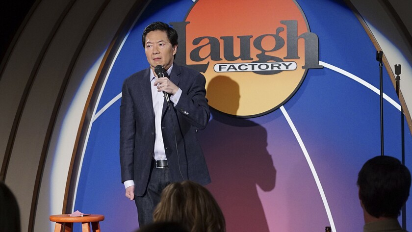 "Ken Jeong in ""Dr. Ken"" on ABC."