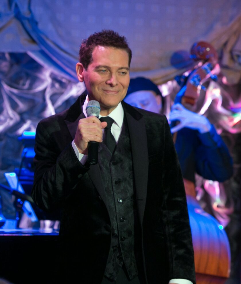 Crooner Michael Feinstein and his big band will present an all-Frank Sinatra program, 8 p.m. April 25, 2015 at Jacobs Music Center/Copley Symphony Hall in downtown San Diego.  Stephen Sorokoff