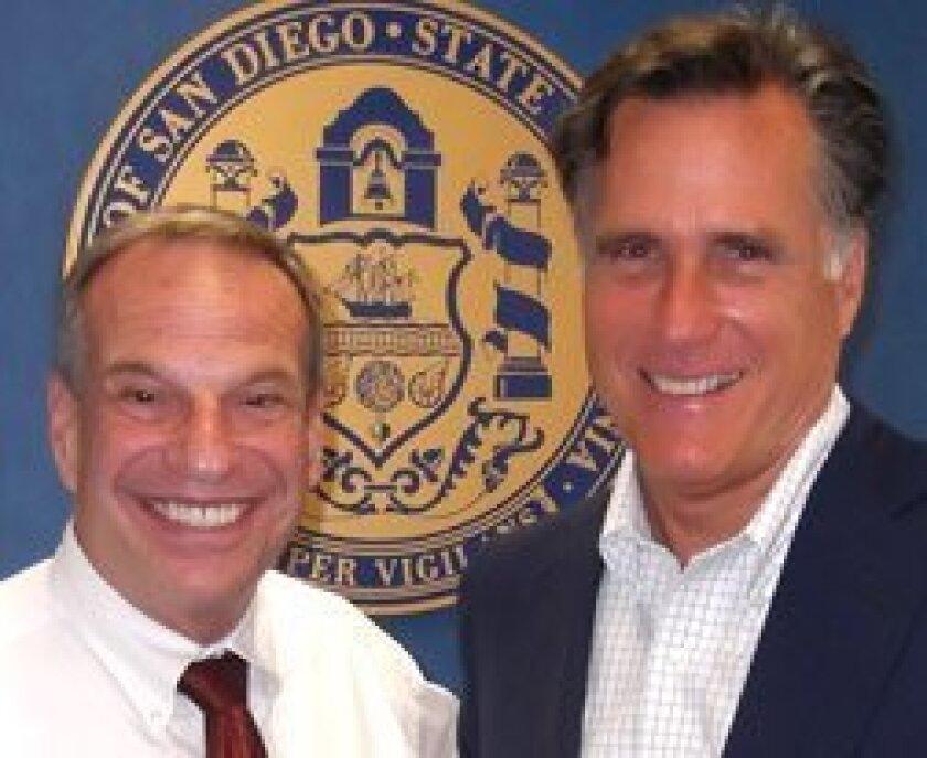 Mayor-Bob-Filner-and-Mitt-Romney-web
