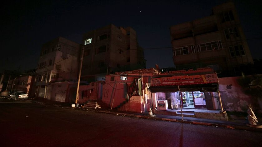 Life in Gaza without electricity