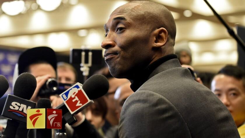 Kobe Bryant question