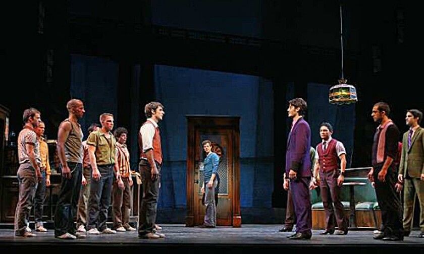 "<b>'WEST SIDE STORY':</b> ""My biggest challenge is that... there are people who don't want change, certainly not in a show that's considered a classic,"" says director Arthur Laurents."