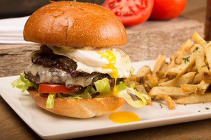 Rustic Root's RR Burger.