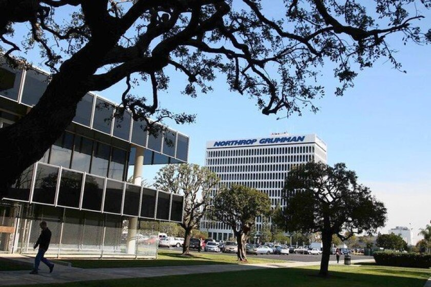 In addition to the latest workforce reduction at Northrop's operations in Southern California, the broader Southland aerospace industry has been downsizing to reflect new budget realities in Washington. Above, Northrop's Space Park facilities in Redondo Beach.