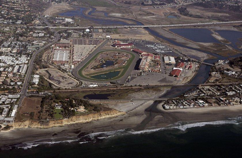 The Del Mar Fairgrounds