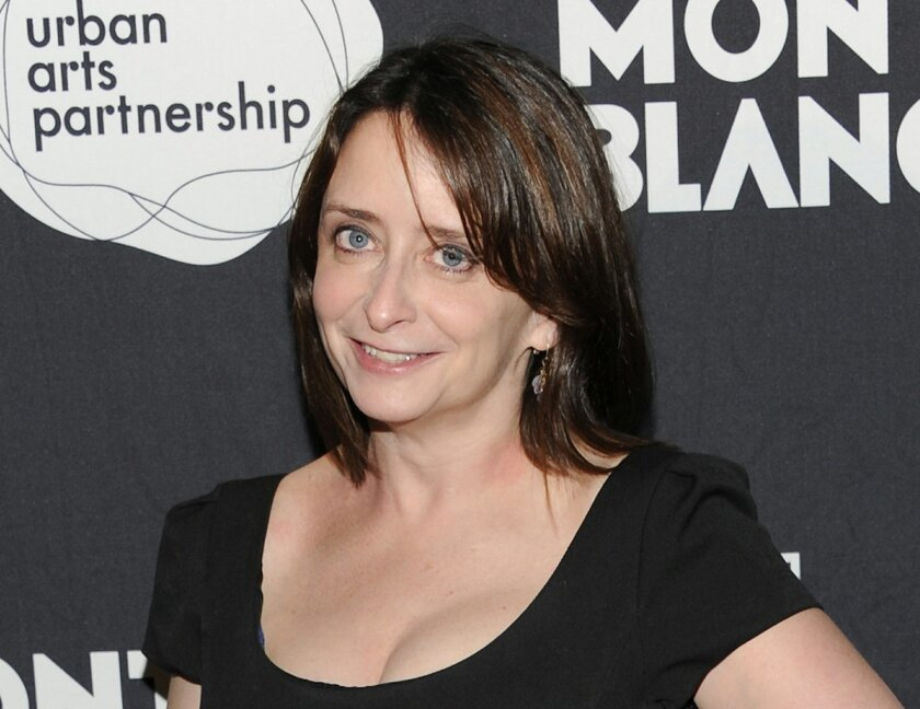 "FILE - This Nov. 14, 2011 file photo shows actress Rachel Dratch at the ""24 Hour Play"" after-party at B.B. King Blues Club in New York. Dratch and Mo Rocca will be getting down and dirty next month in a play about political sex scandals. The duo will star in ""Tail! Spin,"" a verbatim mash-up of the public interviews, secret e-mails, raunchy texts and Twitter gaffes that brought down such politicians as former South Carolina Gov. Mark Sanford, ex-Rep. Anthony Wiener, ex-Rep. Mark Foley and former Sen. Larry Craig. The hit of the 2012 New York International Fringe Festival will begin performances on Sept. 18 at Culture Project. (AP Photo/Evan Agostini, file)"