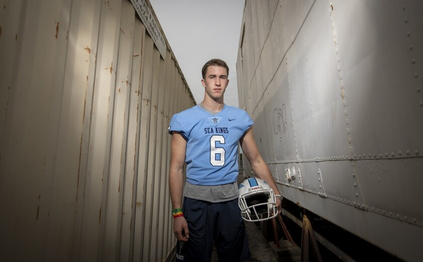 John Humphreys led Corona del Mar High to its second CIF Southern Section Division 4 final in three years.