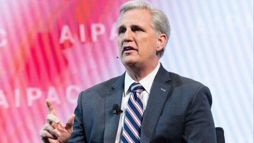 Why California's Kevin McCarthy is having a hard time locking down the speaker's job — again