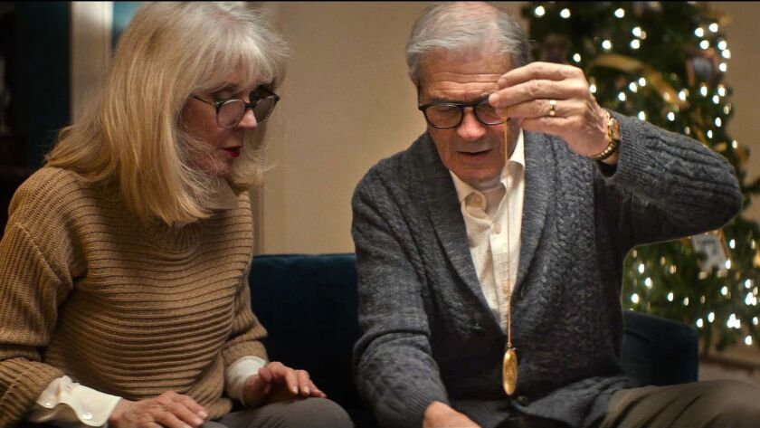 Blythe Danner and Robert Forster in a scene from the movie 'What they Had.' Photo Credit: Bleecker S