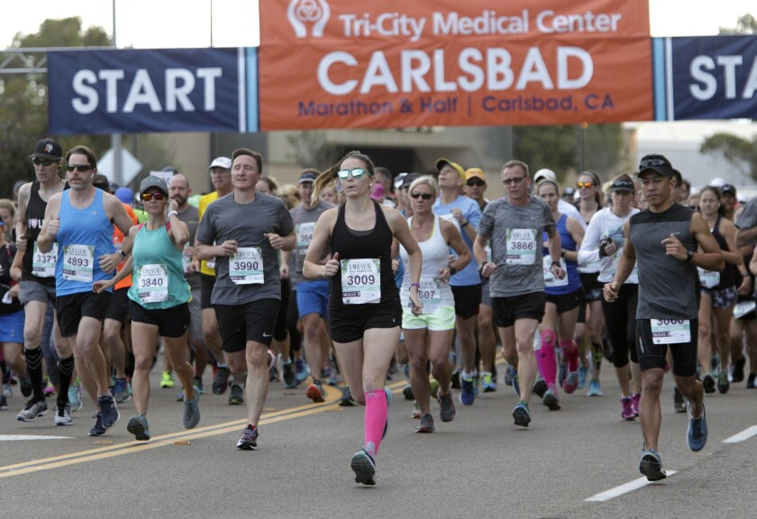 Carlsbad half- and full-marathon