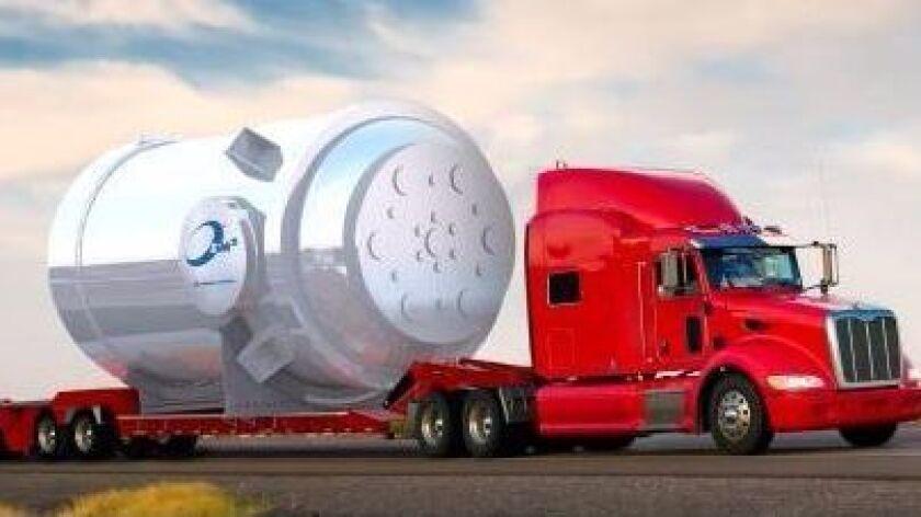 Rendering of the Energy Multiplier Module (EM2) in development at San Diego-based General Atomics.