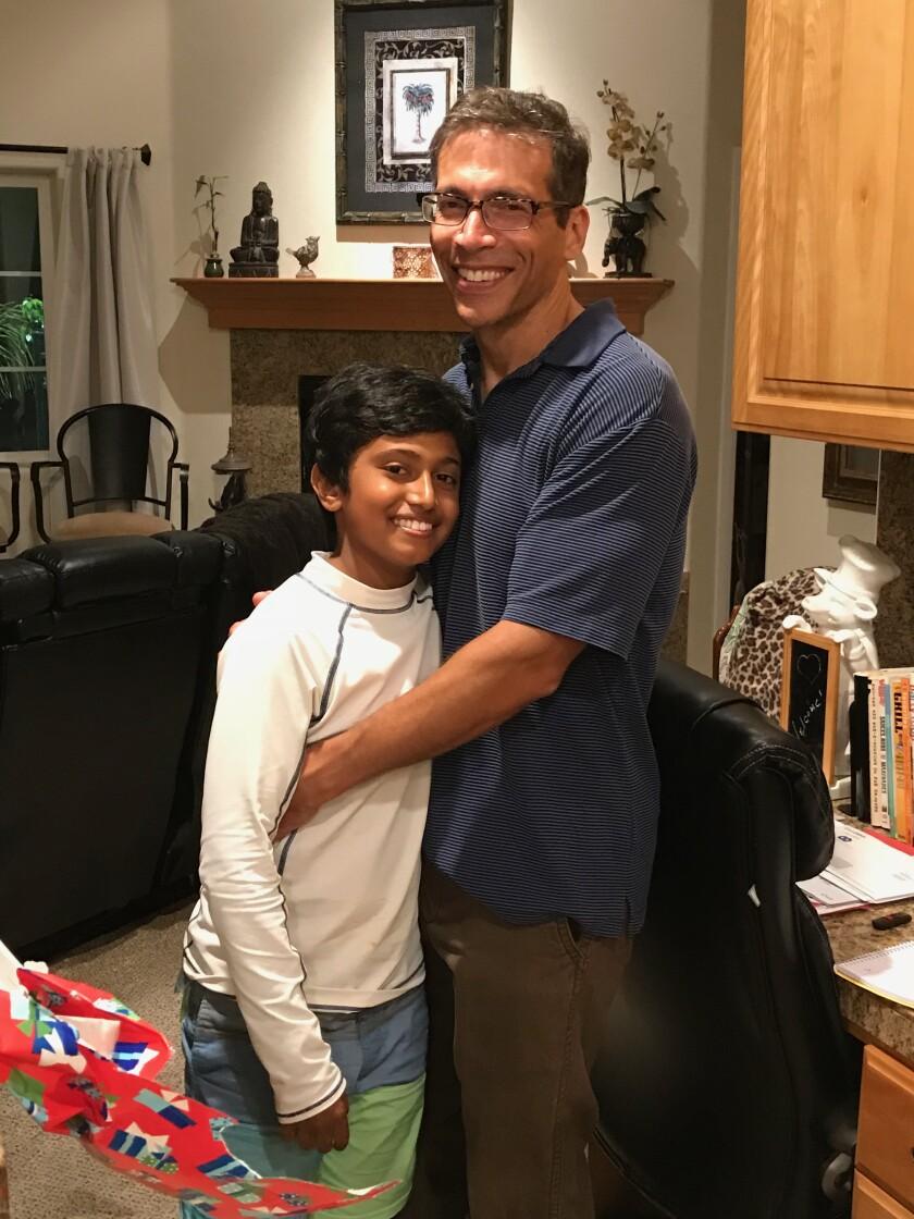 Kieran and Dad at 11th birthday party July 30 2018 (003).jpg