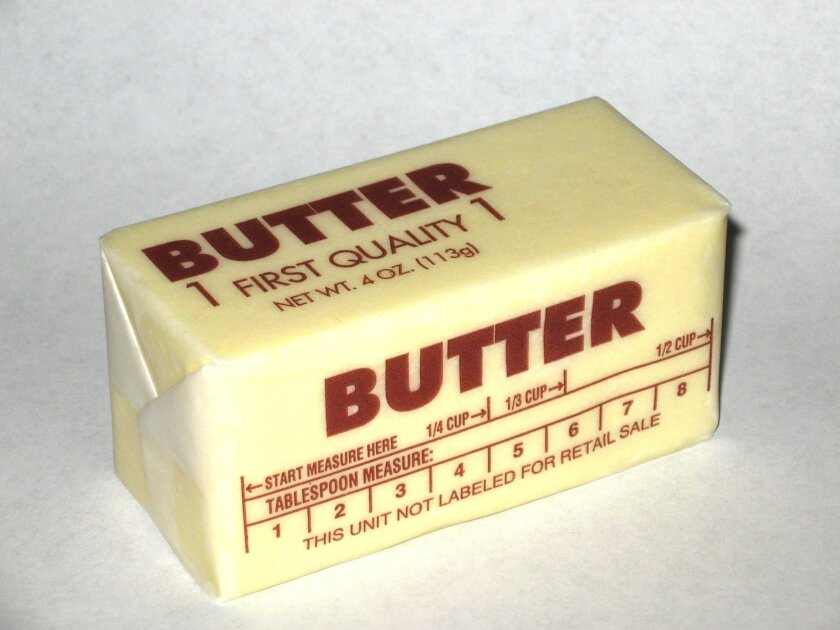 Butter contains a saturated fat that may ward off metabolic syndrome.