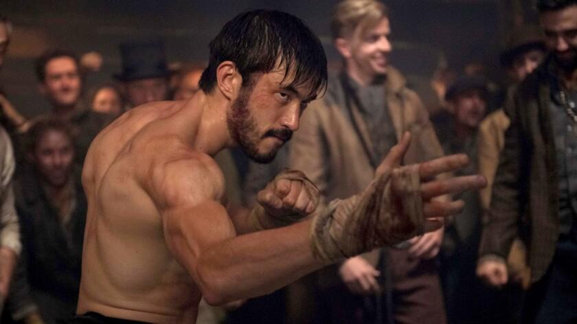 "Andrew Koji in ""Warrior"" on Cinemax."