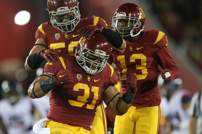 Special teams prowess sent USC's Soma Vainuku on road to the Senior Bowl