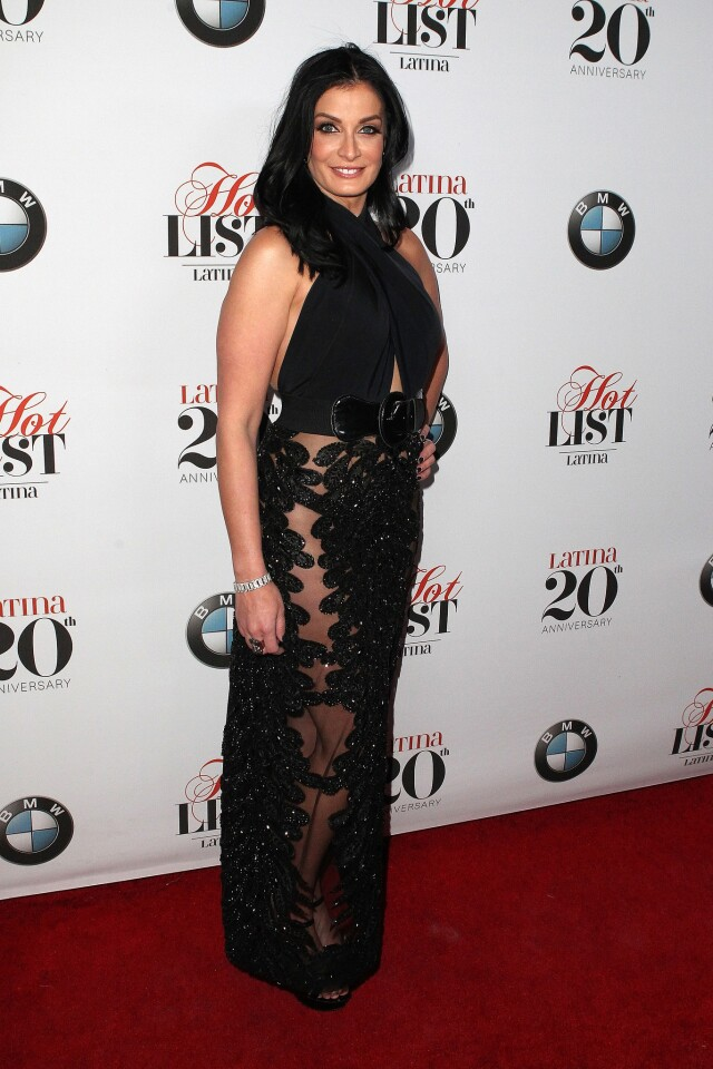 """Dayanara Torres attends the Latinas Magazine's Celebrating """"Hollywoods Hot List"""" Honorees held at STK on November 02, 2016 in Beverly Hills, California, United States (Photo by Art Garcia/DDPixels.com)"""