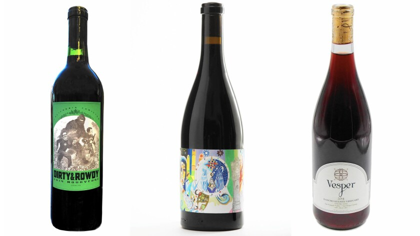 Wines of the Week: Three made with California Mourvedre