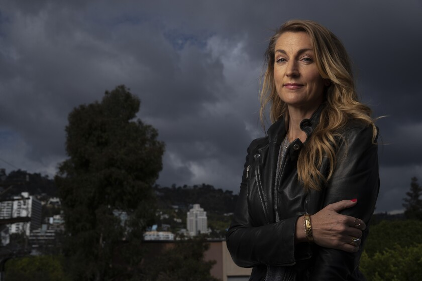 Kjersti Flaa at her home in West Hollywood.