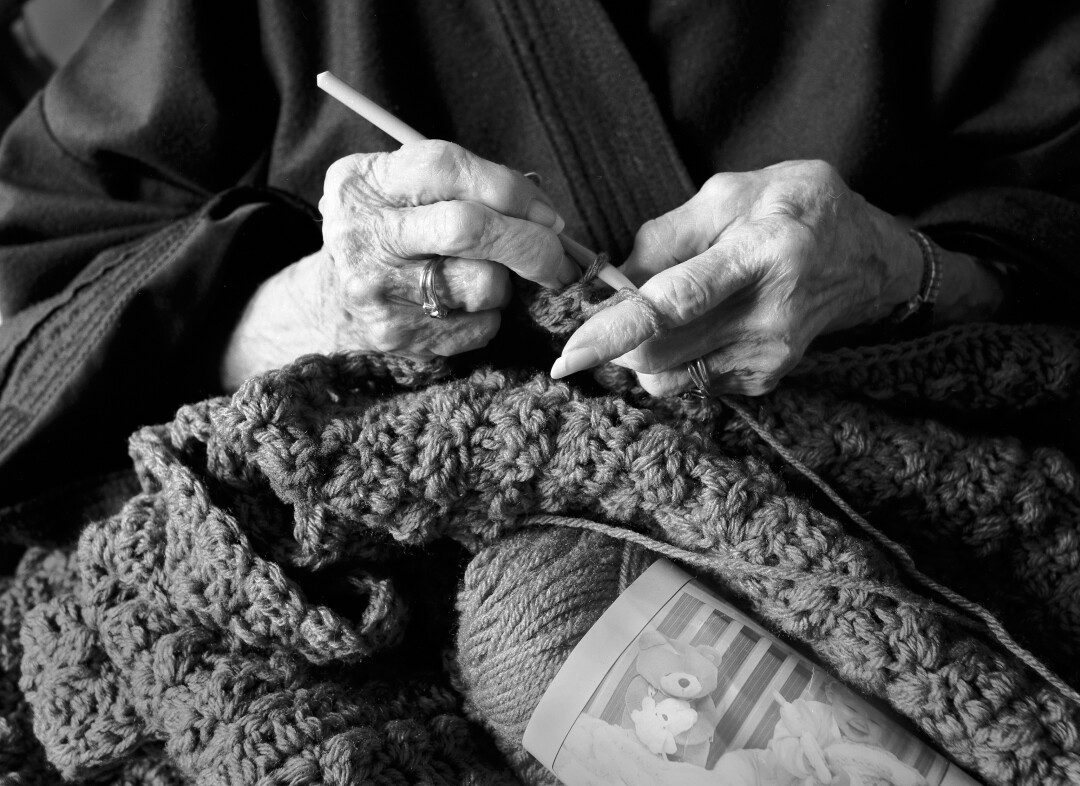 """""""Hands of the Photographer's Mother,"""" by Art Myers"""