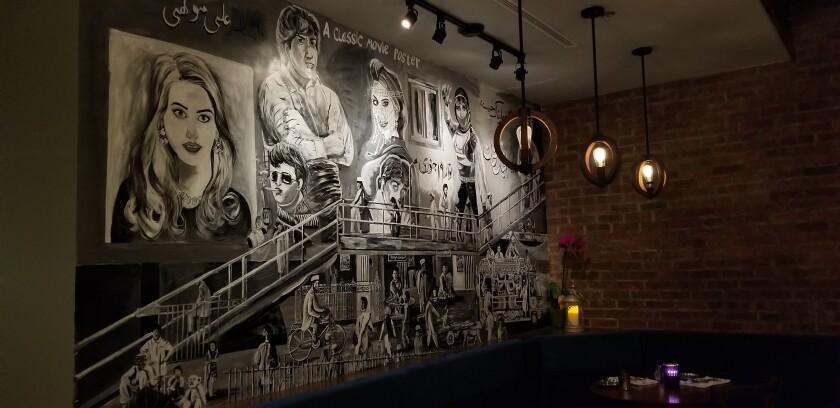 Khan Saab mural by Naeem