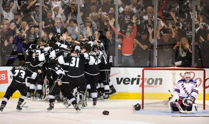 Kings celebrate
