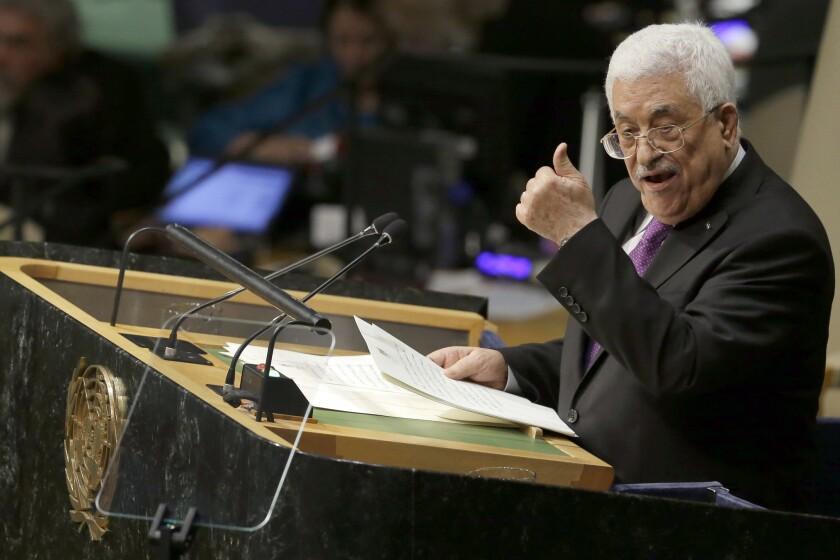 Mahmoud Abbas at U.N.