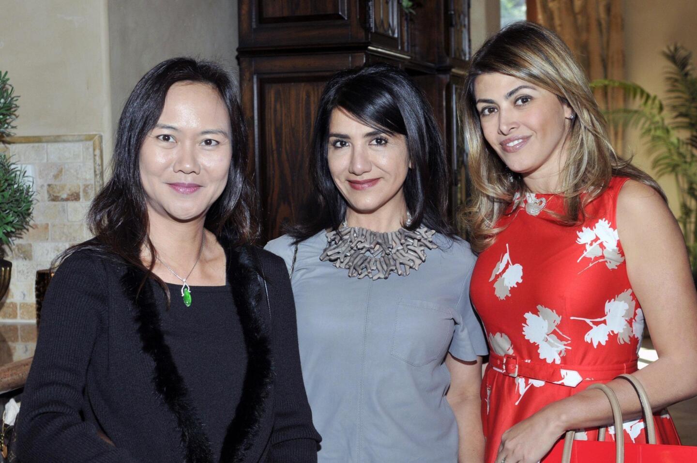 Huiyi Paterson, Leili Nassiri, Leyla Larijani Canive