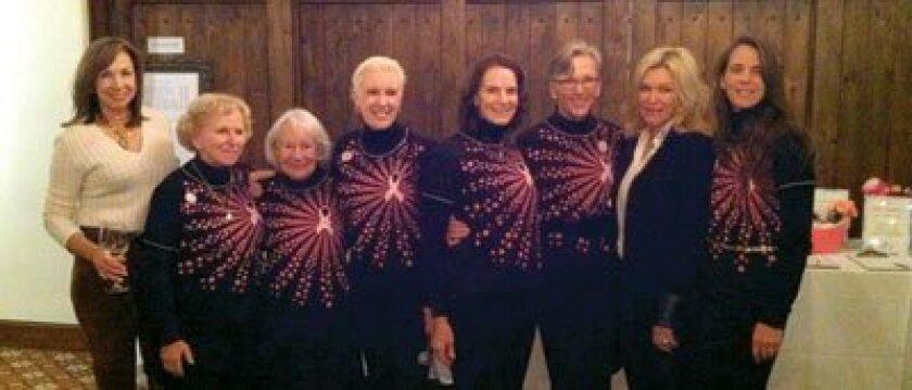 Committee members: Cindy Bligh, Dolores Crawford, Joyce Burns, Sharon Considine, Kathy McElhinney, Joan Flowers, Michele Homan and Deana Ingalls.