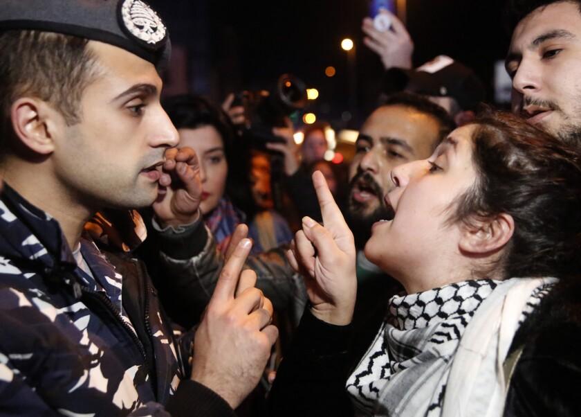 LIBANO-PROTESTAS