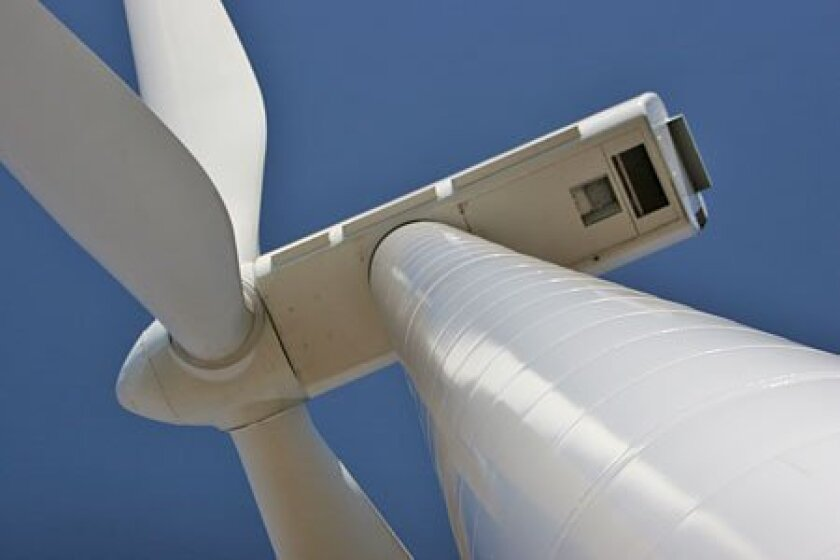 <strong>GREEN ENERGY:</strong> Alternative energy production is expected to expand with the help of tax breaks and other incentives. (John Gastaldo / Union-Tribune)
