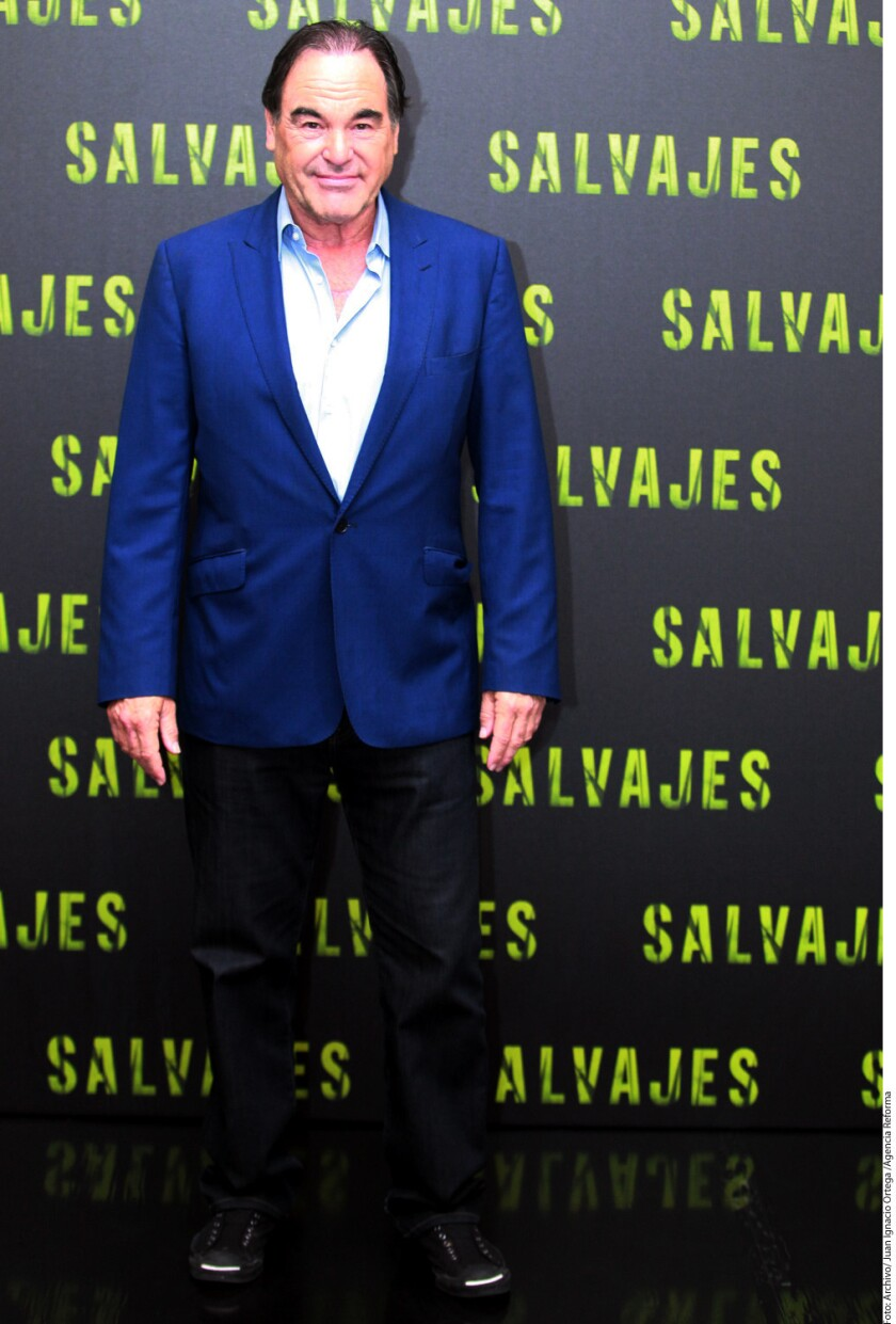 Oliver Stone atendió el Festival de Cine de Toronto.