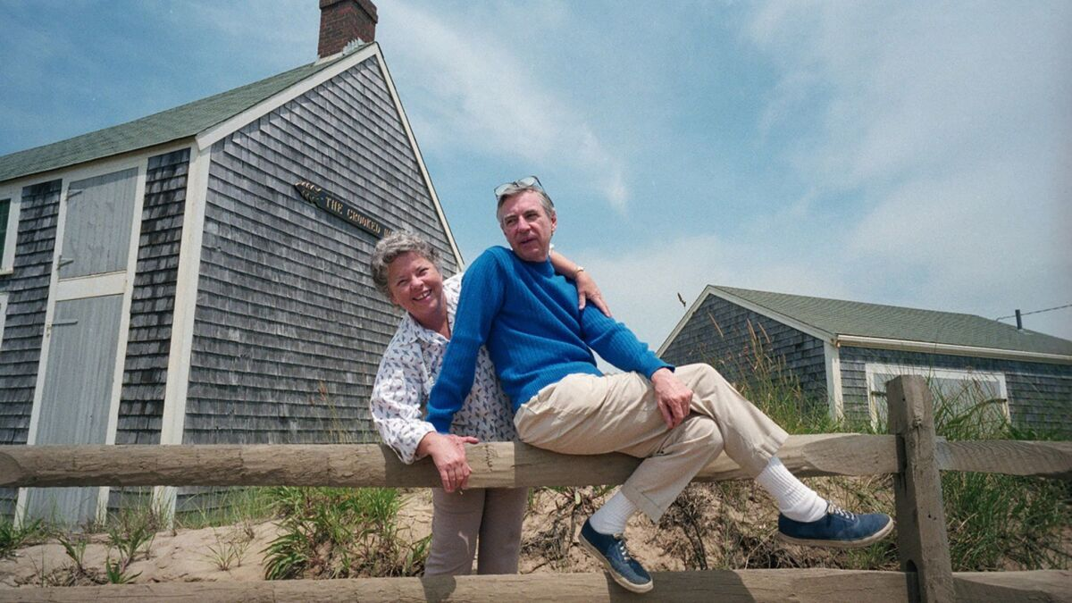 Fred Rogers Family Keeps The Legacy Of Mister Rogers Neighborhood Alive With A Candid New Documentary Los Angeles Times